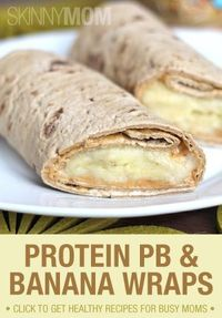 Try these PB Banana wraps!