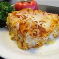 Cheese Lasagna Allrecipes.com I make something similar to this using whole wheat, no boil, lasagna noodles. I also use the Eden Italian Pasta. It's like using a sauce with fresh tomatoes!