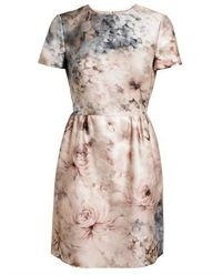 VALENTINO | Secret Garden Floral Printed Cotton and Lace Dress