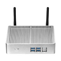 XCY X32 Desktop Mini PC Intel Core I5-4210Y Barebone 1.5GHz Intel HD Graphics 4200 300M WiFi