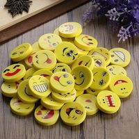 Pack of 20 Assorted Emoticon Smilies Erasers. Novelty Rubbers. Learning Correction Supply. Kid's Stationery. Party Bag & School Pencil Case £5.49