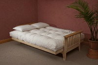 Buy 8 inch tufted futon mattress at only $999 with 10-years of warranty