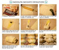 Mini Chocolate Croissants Recipe #recipe #chocolate #individual #appetizers remodelaholic.com