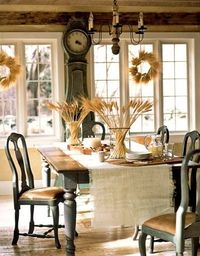 Love this kitchen setting. So cozy.