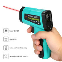 Non-Contact Digital Infrared Thermometer LCD Display Temperature Tester IR Laser Point Gu n Meter