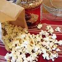 LOVE THIS! I make my own popcorn-1/3 cup unpoped popcorn, 1tsp olive oil and a little salt in brown bag. 2 minutes in the microwave. The kids love it too!