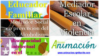 Cursos Alcoholismo, Bullying, Discapacidad, Educador Familiar