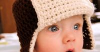 PDF Pattern Crochet Baby Bomber Hat with by maybematilda on Etsy, $3.50