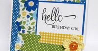 Hello Birthday Girl by cullenwr - at Splitcoaststampers