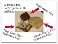 Enjoy hands-on rock cycle activities using crayons and cookies! Science has never been more fun!