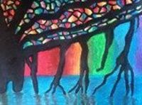 Artsonia Art Exhibit :: Sixth Grade Banyan Tree Paintings
