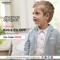 Mamas & Papas is offering a great discount on all sort of baby and moms collection for the online shoppers.