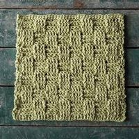 Picnic Basket Dishcloth