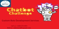 Custom Bots Development Services   OnGraph  OnGraph is an expert in Custom Bots Development Services. Our developers have worked on a myriad of automated features across 100+ of apps. With a consolidated experience of 10+ years, bot development comes na...