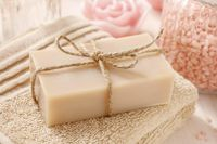 Unscented Vegan Organic Soap $12.00