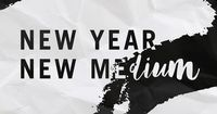 January's #MakerMonthly box theme: New Year, New Medium. Let's get crafty