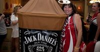 Halloween is my most favorite holiday of the year and along with that I enjoy making costumes for everyone. I decided to go with the Jack and Coke costumes