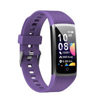 Bakeey R121.14inch Color Display Heart Rate Blood Pressure Oxygen Monitor USB Charging Smart Watch