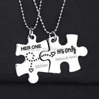 Her One His Only Puzzle Piece Couple Necklaces Christmas Gift https://www.gullei.com/her-one-his-only-puzzle-piece-couple-necklaces-christmas-gift.html