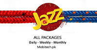 Check all the latest Jazz Calls Packages subscriber code, rates, total MBs, Free SMS, Free Minutes, status code, info code, etc. for daily, weekly and Monthly. You can also see jazz super calls offers and social packages. https://mobitech.pk/packages/Jaz...