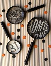 Vintage carnival halloween by Suzonne Stirling (love her!) for Family Circle.