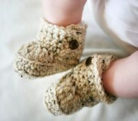 Newborn 0 to 3 or 3 to 6 Months Baby Bootie