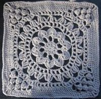 "Ravelry: Cathedral Converts 12""-15"" Afghan Block Tutorial/Re-write pattern by Margaret MacInnis"