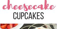 These Strawberry Cheesecake Cupcakes have a graham cracker base topped with a strawberry cake layer and cream cheese frosting. Sprinkles bakery recipe VIDEO