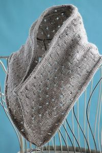 Simple Eyelet Cowl by Gretchen Tracy