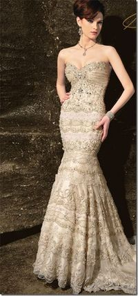gold colored bridesmaid dresses | Categories: Wedding Dress Tags: gold wedding dress