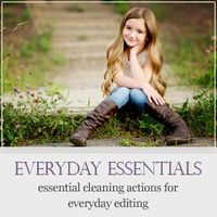 Simple steps for beginner to do a clean edit in Photoshop Elements. | Everyday Elements