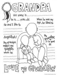In 2016, Grandparents Day falls on Sept. 11th. It is time to do something grand! These darling free Grandparent coloring pages will show their love!