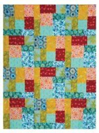 Patch Envy Quilt Pattern Download from Anniescatalog.com -- An easy quilt made from just 2 blocks!
