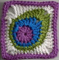 http://www.ravelry.com/patterns/library/peacock-feather-square