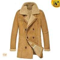 Custom Shearling Sheepskin Coat CW878265