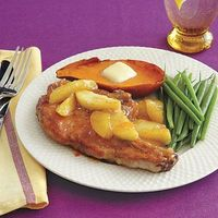 Fruit brings the sweet and meat brings the savory for an unbeatable combination
