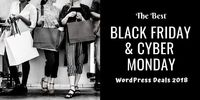 Best Black Friday & Cyber Monday WordPress Deals 2018