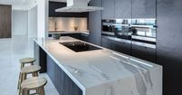 #Neolith, the main material in a luxurious apartment in Miami Beach. Neolith�€�