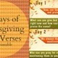 "Thanksgiving Bible Verses �€"" Free Thanksgiving Countdown Printable"