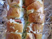 File this one in your no-fuss dinners pile: Stuffed French Bread.