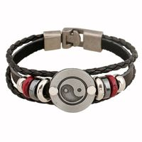 Unisex Leather Bracelet & Bangles Jewelry $5.00