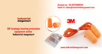 3M Earplugs hearing protection equipment online +91-9773900325 - Industrial megamart