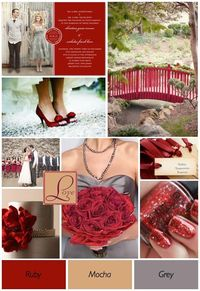"""Red Wedding Theme Color Combination Ideas �€"""" Wedding Ideas, Wedding Trends, and Wedding Galleries"""