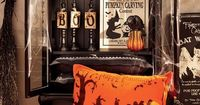 HAUNTED HOUSE Halloween is creeping up on us, and that means it's time to start decorating. Start with a witch's broom, black birds and finish with wicked wall art that'll perfectly create a spooky setting. Shop all Halloween here.