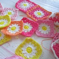 Color 'n Cream Crochet and Dream: Go With The Flow