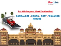 Plan Your Next Destination for Bangalore - coorg - ooty - Wayanad - Mysore with Beecabs car Rental. Call / WhatsApp : 8148001001