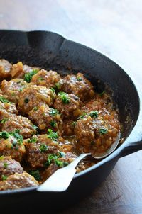 Lamb Meatballs in a Spicy Curry #recipe