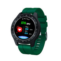 XANES® F17 1.54'' Touch Screen IP68 Waterproof Smart Watch Heart Rate spO2 Monitor Multiple Languages Sports Modes Fitness Bracelet