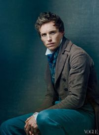 It's going to be hard for me to get all huffy at Marius when he's this adorable. (And have you heard the like two second clip of him singing...swoon...Eddie Redmayne, you heartbreaker...)