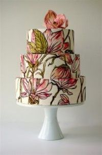 Okay, this is my dream... cake decorating + watercolor techniques = gorgeous, gorgeous deliciousness. Maggie Austin Cakes | DC